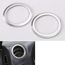 2x Dashboard Air Condition Vent Decorative Cover Trim Ring For Jimny 2007-2015