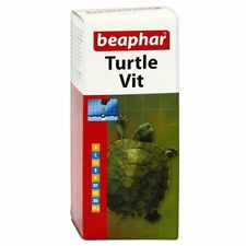 Beaphar Turtle Vit 20ml Vitamins For Turtles Terrapins & Tortoises
