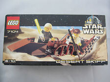 Lego 7104 Star Wars Desert Skiff Set STILL SEALED in box. Never been opened 2000