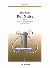 Bruch-Kol Nidre, Op. 47 for Violin and Piano