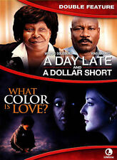 A Day Late and a Dollar Short/What Color Is Love? (DVD, 2015)