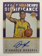 D'Angelo Russell Great SIGnificance Auto 2015-16 Panini Hoops NBA SP Autograph
