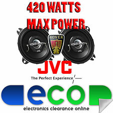 Rover 100 Metro 90-98 JVC 10cm 4 Inch 420 Watts 2 Way Rear Hatch Car Speakers