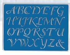 Plastic/PVC/Embossing/Stencil/Alphabet/5/Upper/Case/PP/Bendy/REDUCED