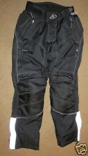 SUPER FieldSheer black 2-piece motorcycle / riding pants - womens 10