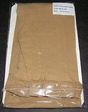 Dance Tights Convertible Dark Tan Children Girl Boy 10 12 YO Spandex Microfibre