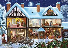 NEW! Gibsons Midnight Delivery 1000 piece nostalgic christmas jigsaw puzzle