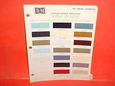 1967 LINCOLN CONTINENTAL CONVERTIBLE SEDAN FORD THUNDERBIRD LANDAU PAINT CHIPS
