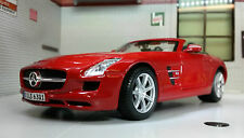 G 1:24 Scale Mercedes SLS AMG Roadster 31272 Detailed Maisto Diecast Model Car