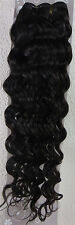 """18""""-26"""" Remy Curly Deep Weft Human Hair Extensions Weave 100g Black Brown Blonde"""