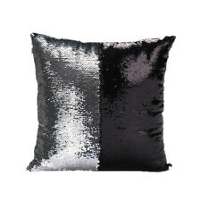 Magic Square Reversible Mermaid Sequin Cushion Cover Glitter Throw Pillow Case