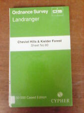 Cheviot Hills + Kielder Forest: Ordnance Survey Landranger Map 1:50000 #80 (M5)