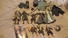Lord of the Rings Loose Figures Lot 2001 Marvel