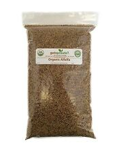 Certified Organic Alfalfa Sprout Seed 1 Lb Handy Pantry Brand Seeds Resealable