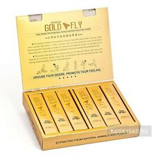 SPANIS GOLD FLY WOMEN SEX DROPS SEXUAL ENHANCEMENT   100% ORIGINAL   3  TUBES