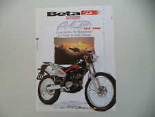 advertising Pubblicità 2000 MOTO BETA ALP 125/200