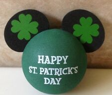 "DISNEY MICKEY MOUSE ST PATRICK'S DAY CAR ANTENNA AERIAL BALL - NEW  ""o"""