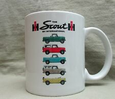 IH International Scout Line Coffee Cup, Mug - New - Cool Vintage Look - Sharp!