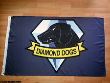 Metal Gear Solid Diamond Dogs Flag Show your Support for Big Boss!