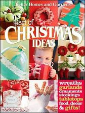 Best of Christmas Ideas (Better Homes and Gardens Cooking)-ExLibrary