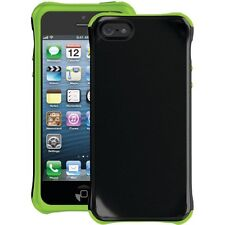 BALLISTIC AP1085-A005 iPhone SE/5/5s Aspira Series Case (Black/Lime Green)