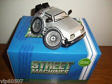 "SUPER RARE ""BACK TO THE FUTURE"" HEAVY CERAMIC STYLIZED DELOREAN - NO LONGER MADE"
