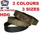 "BRITISH ARMY MILITARY BELT GREEN BLACK 2"" 50mm Tactical,Pistol,PLCE Webbing TA"