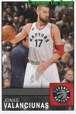 062 J. VALANCIUNAS LITHUANIA TORONTO RAPTORS STICKER NBA BASKETBALL 2017 PANINI