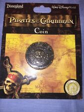 Disney Parks Exclusive Pirate Metal Coin Pirates of the Caribbean Cursed Dabloon