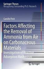 Springer Theses: Factors Affecting the Removal of Ammonia from Air on...