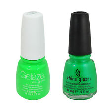 81815 70640 In The Lime Light Gelaze/China Glaze Nail Gel Polish 0.5oz