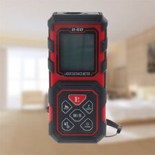 Handheld Digital Laser Point Distance Meter Measure Tape Range Finder 60m/196ft