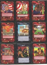 *** ALL 200 Common Set * Illuminati INWO Card Game *  New World Order * Nuke ***