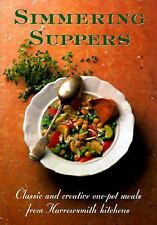 Simmering Suppers: Classic and Creative One-Pot Meals from Harrowsmith-ExLibrary