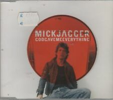 MICK JAGGER ROLLING STONES GOD GAVE ME EVERYTHING CD SINGOLO COME NUOVO!!!