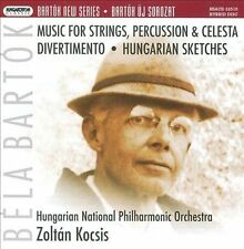 Bart¢k: Music for Strings, Percussion & Celesta; Divertimento; Hungarian Sketche