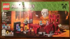 LEGO Minecraft 21122 the Nether Fortress Building Kit Brand New
