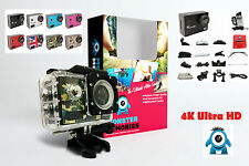 MONSTER Professional 4K Ultra HD Sports Action Camera Cam 16MP Waterproof WIFI!