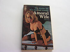 AMORAL WIFE  1966   ERIC LEE   SEXY MEGA BUSTY PHOTO COVER  VERY GOOD+