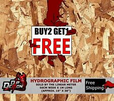 LM CHIP BOARD WOOD LOOK HYDROGRAPHIC WATER TRANSFER FILM HYDRO DIPPING DIP DEMON