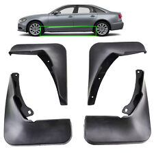 FRONT&REAR MOLDED MUDFLAPS FIT FOR 2011 2015 AUDI A6 (C7) MUD FLAP SPLASH GUARDS