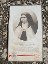 Vatican second class relic St. Therese of the Child Jesus vestment 1907
