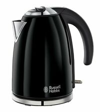 Russell Hobbs Electric Cordless Legacy Kettle Black Tea Coffee Maker Cup Cheap