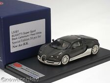 BUGATTI SUPER SPORT BLACK CARBONIUM LIM:50PCS LOOKSMART MODEL 1/43 #LS381