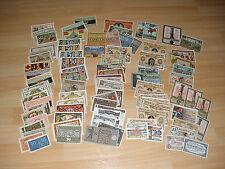 1 Lot Serienscheine / Notgeld / Papiergeld: 100 verschiedene Scheine