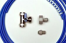 American Fridge Freezer Plumbing Kit: 4M Pipe, T Valve, Adaptor,  Fridge Fitting