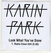 (FJ715) Karin Park, Look What You've Done - 2014 DJ CD