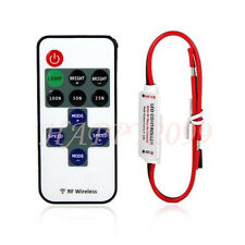 Mini LED Controller Dimmer + RF Wireless Remote Control for 3528 5050 LED Strip