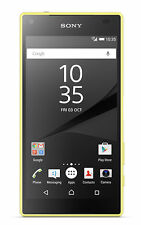 Sony Xperia Z5 Compact E5803 (Latest Model) - 32GB - Yellow (O2) B266