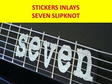 STICKER INLAY SEVEN MICK THOMSON SLIPKNOT VISIT OUR STORE WITH MANY MORE MODELS
